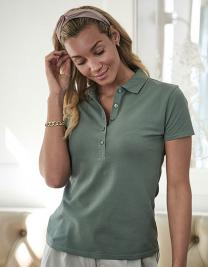Womens Luxury Stretch Polo